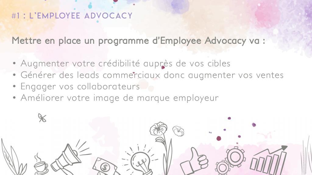 Employee advocacy programme ambassadeur linkedin formation grenoble