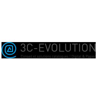 Logo 3c evolution communication client Grenoble