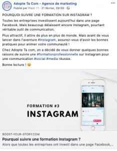 Hastag sur Facebook Agence Marketing Grenoble