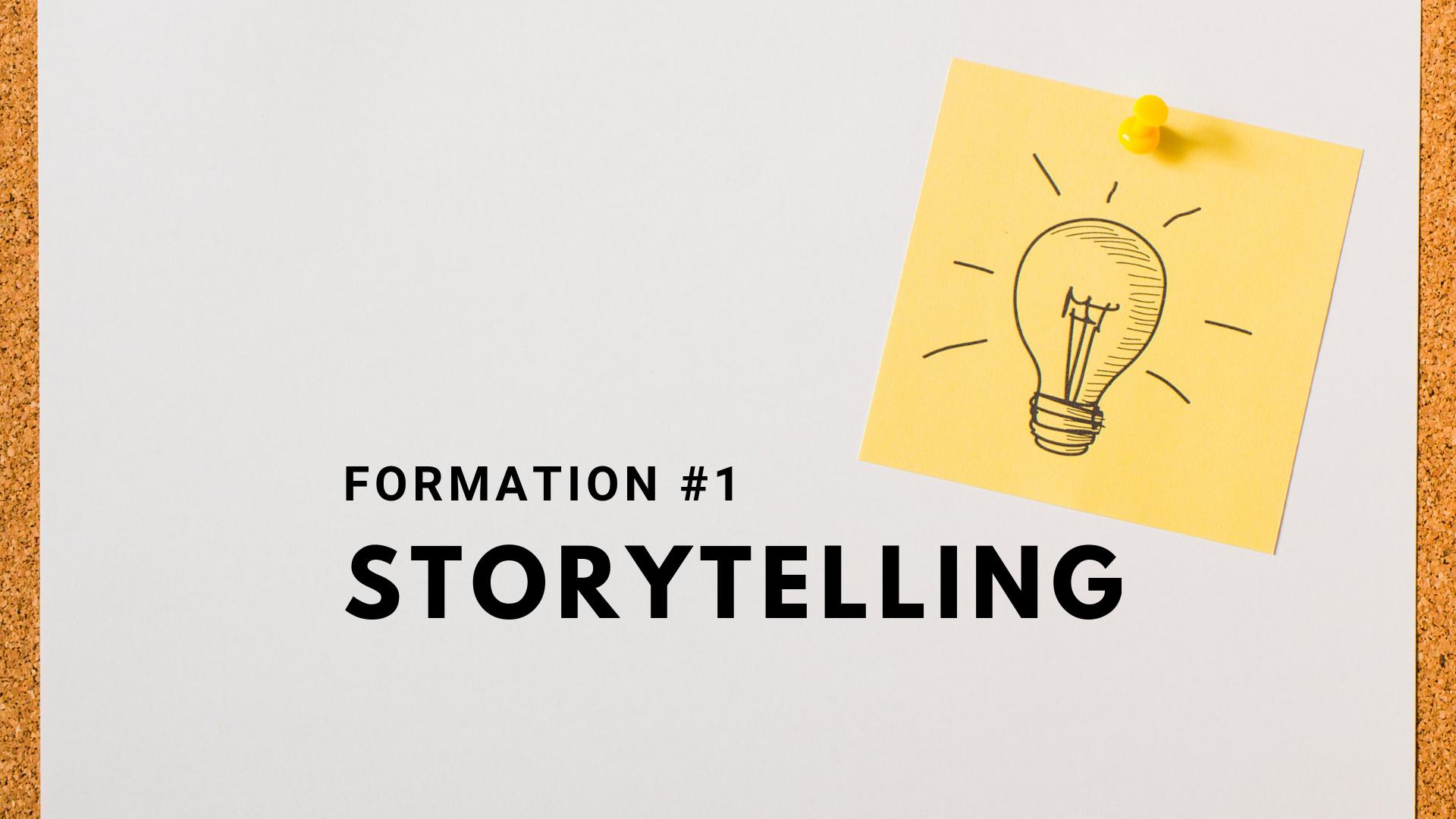 Pourquoi se former au storytelling Grenoble